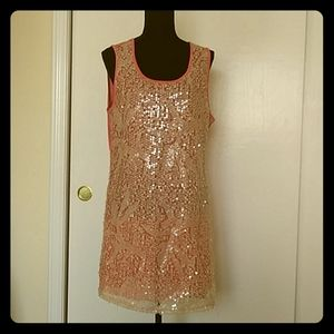 🎈Lily Coral Tunic Top Size 2X